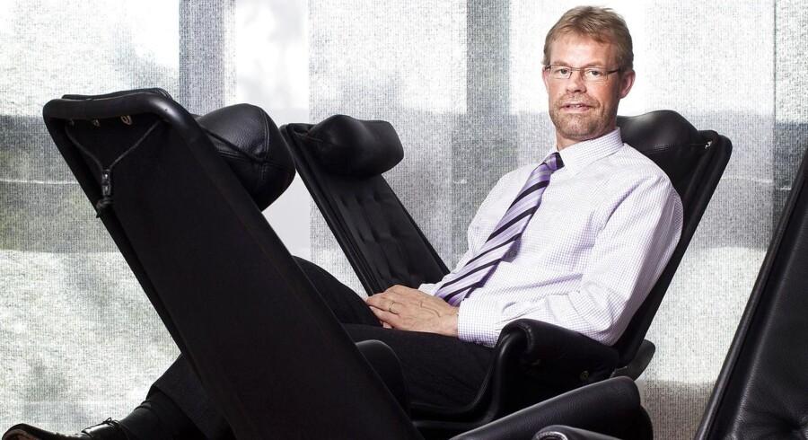 Lars-Peter Søbye, topchef i Cowi, går efter de store ingeniørprojekter som Femern Bæltforbindelsen.