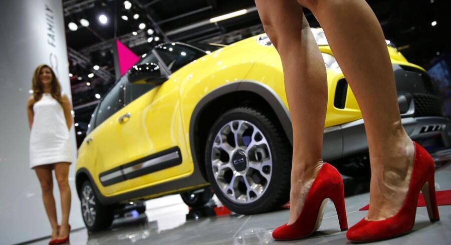 Fiat vil de kommende år investere 67 milliarder kroner i nye modeller.