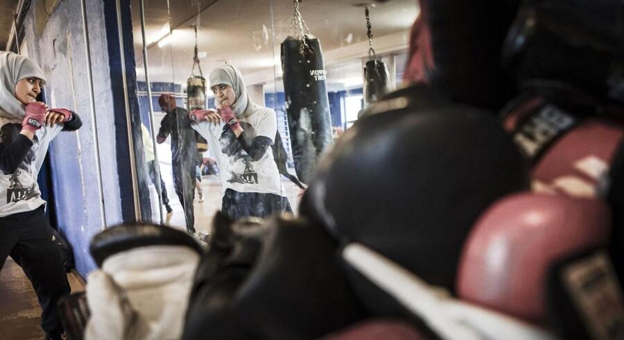 I boksesporten og i en klub som Christianshavns Bokseklub (CIK) er der forholdsvis mange indvandrere.