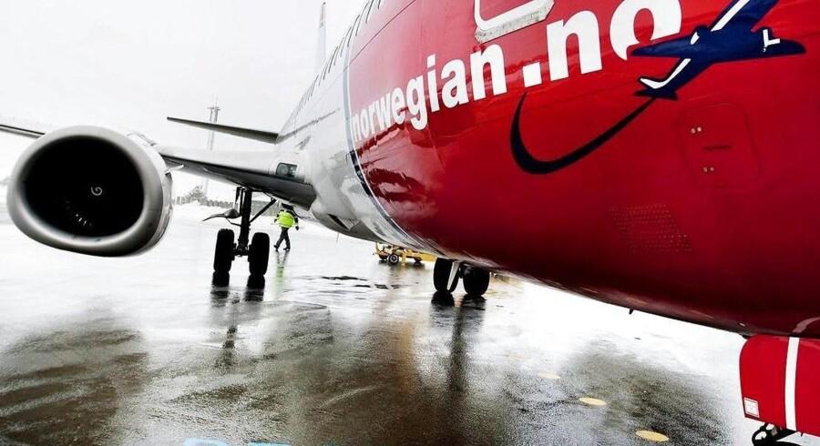 Det er på langruterne, at Norwegian benytter sig af thailandske ansatte. Her ses dog en af kortruteflyene.