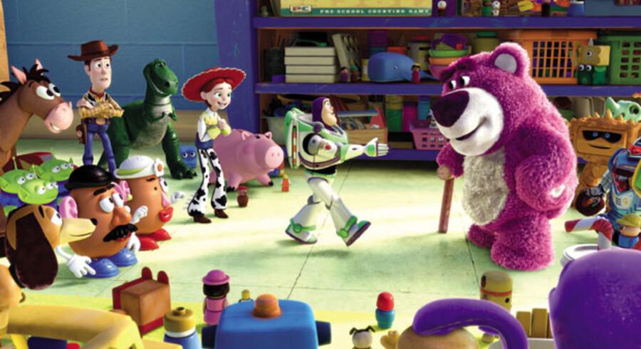 Selv om det er en 3er er historien i »Toy Story« ikke udvandet men til tider næsten for barsk.