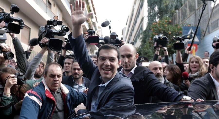 Syrizas leder Alexis Tsipras