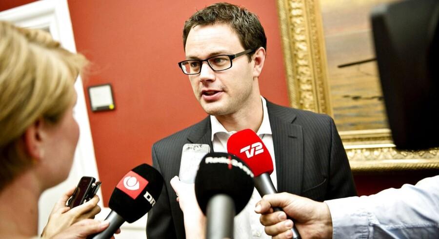 Den nye skatteminister Jonas Dahl.