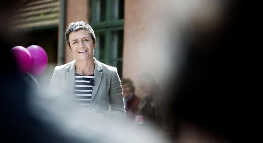 Margrethe Vestager holder grundlovstale på præstegården i Birkerød.
