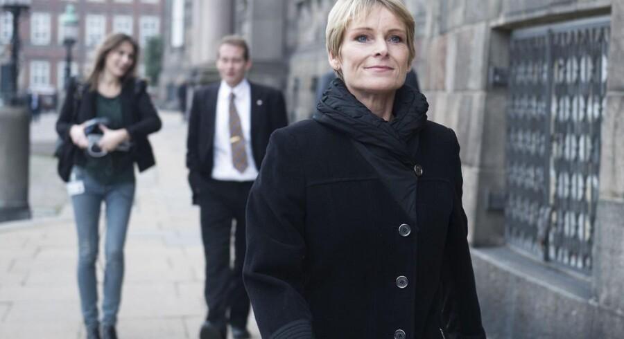 Venstres børne- og familieordfører, Tina Nedergaard (V).