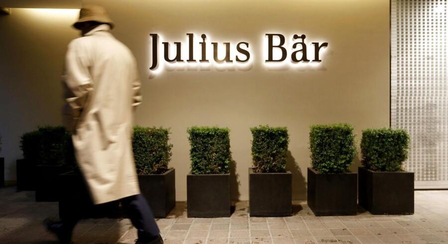 Den schweiziske bank, Julius Bär