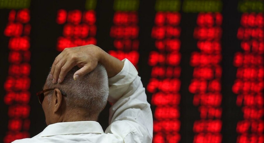 Det kinesiske Shanghai Composite Index har i løbet af handelsdagen været nede med et fald på 1,7 pct.