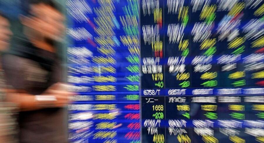 Centralbankernes pengeindsprøjtninger fyrer op under aktiemarkederne