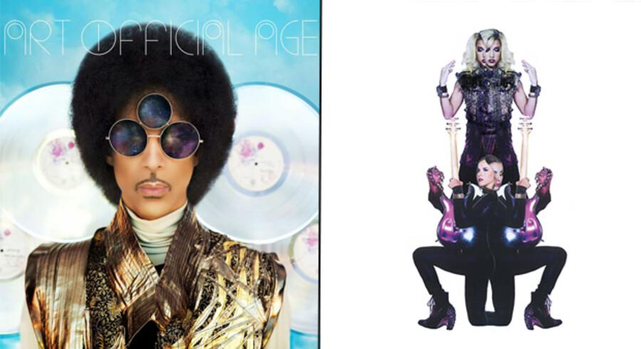 »Art Official Age« og »Plectrumelectrum« af Prince