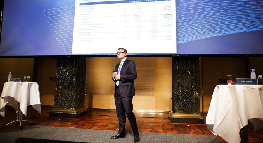Førstkommende mulighed for at påskønne aktionærerne er årsregnskabet for 2013