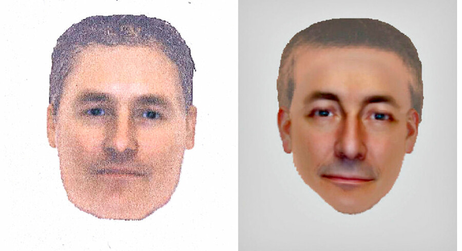Disse to billeder blev frigivet af engelsk politi mandag den 14. oktober. Politiet regner med, at de forestiller den samme mand på baggrund af to forskellige vidneudsagn. Han skulle være set i den portugisiske by Praia da Luz den 3. maj 2007, den nat Madeleine McCann forsvandt.