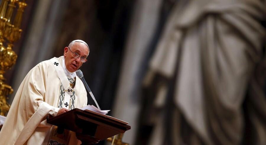 Pavens iPad blev solgt på auktion tirsdag for 215.000 kroner.