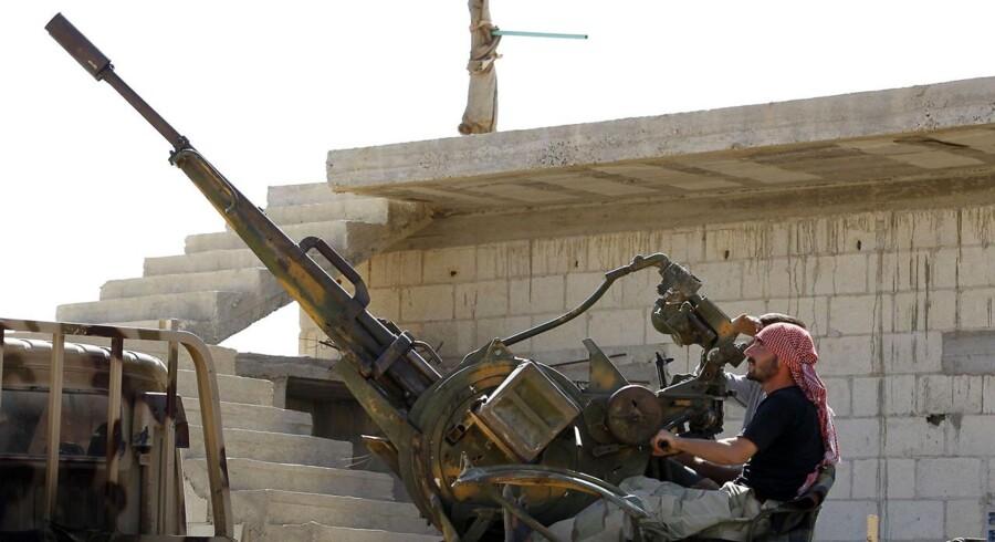 Medlem af den Frie Syriske Hær.