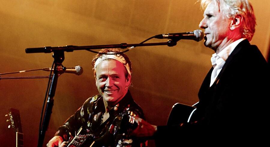 For gud og hvermand. Thomas Helmig og Steffen Brandt spiller til Århus festuge i Rådhushallen i Århus.