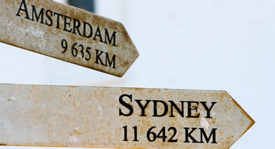 Undervejs fandt de to imidlertid ud af, at det vist var helt galt. De var ikke som planlagt på vej til Sydney i Australien, men til Sydney i Nova Scotia i Canada - 17.000 km fra deres planlagte rejsemål, fortæller Take Off.
