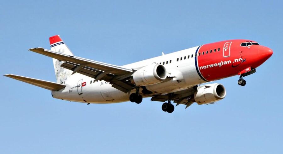 Norwegians omsætning vokser, men resultatet skuffer. Det skyldes blandt andet omkostningerne i forbindelse med Dreamliner-problemerne.