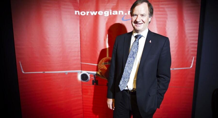 Norwegians administrerende direktør Bjørn Kjos satser hårdt på vækst, blandt andet med nye ruter til USA.