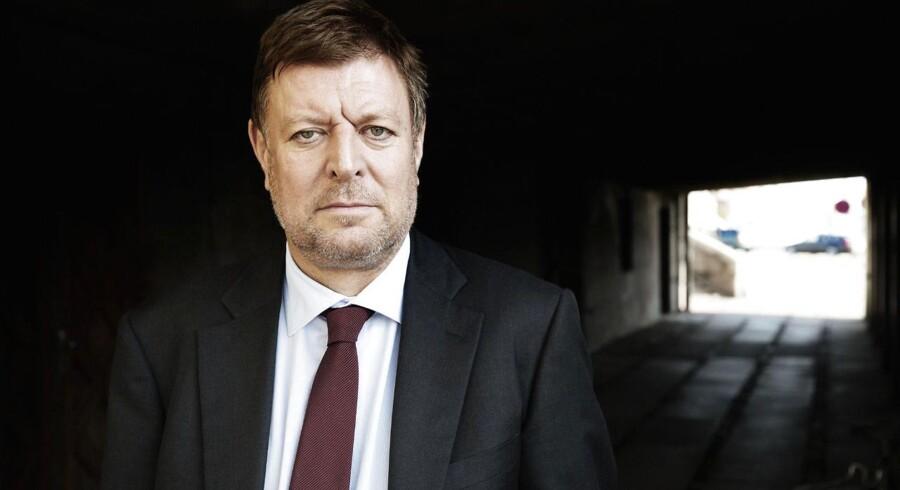 Departementschef Michael Dithmer, erhvervs- og vækstministeriet. 15. september 2013 er femårsdagen for Lehman-krakket.