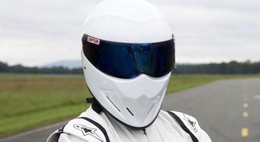 Den hvide The Stig. (Foto: BBC)