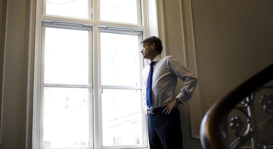 Administrerende direktør i rederiet J. Lauritzen, Jan Kastrup-Nielsen, har solgt selskabets 10 produkttankskibe.