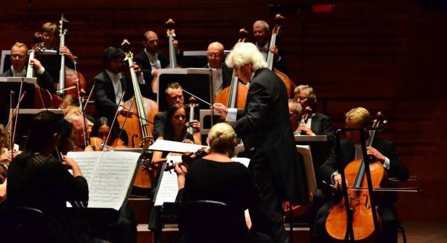 Torsdagens 80-årsjubilæumskoncert med bl.a. Dmitrij Kitajenko, Renaud Capuçon og Antoine Tamestit. Foto: DR