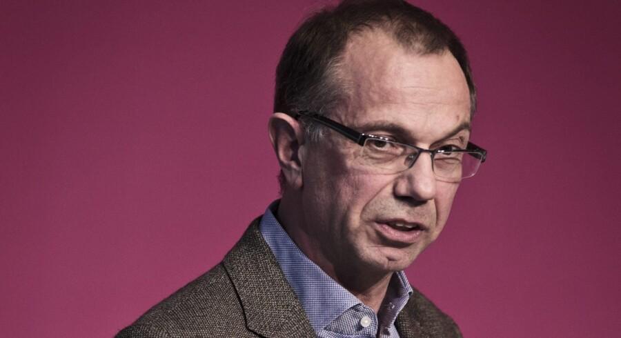 Nykredits koncerndirektør, Søren Holm, mener ikke, at det bliver noget stort problem at lokke institutionelle investorer som for eksempel pensionsselskaber til at investere i Nykredit. Foto: Malte Kristiansen