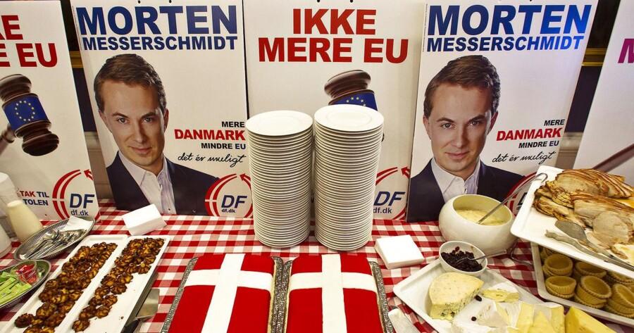 DFs valgfest på Christiansborg søndag aften.