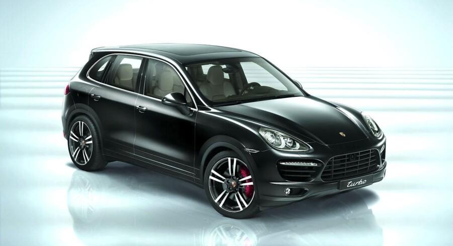 Har man råd til en Porsche Cayenne midt i et bankerot?