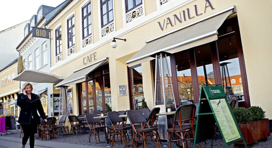 Cafe Vanilla på Torvet i Køge.