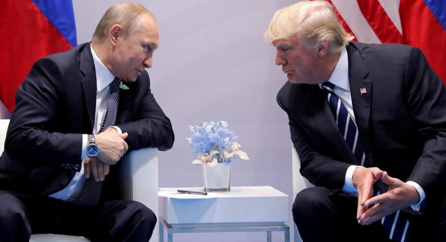USAs præsident Donald Trump savner ifølge Mads Fuglede Ronald Reagans evne til at tæmme en russisk præsident.