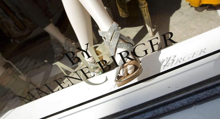 By Malene Birger har medvind, når det kommer til salget. Her en butik i Aarhus.