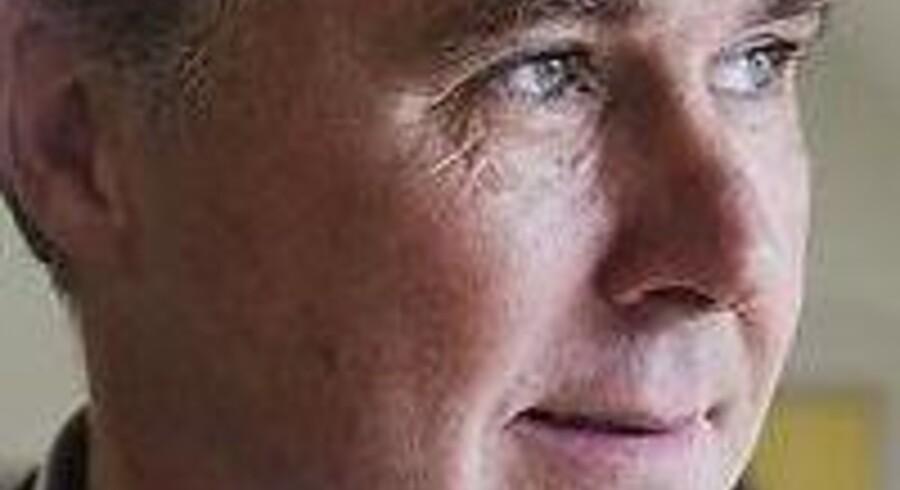 Den tidligere konservative toppoliker og reklamemand Jens Heimburger, der i dag fra slottet Flintholm på Fyn driver selskabet Dansk Generationsskifte.