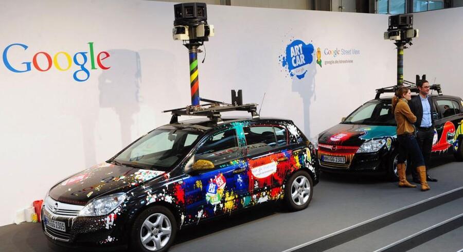 Googles fotovogne foretog sig meget andet end at tage billeder. Arkivfoto: Scanpix