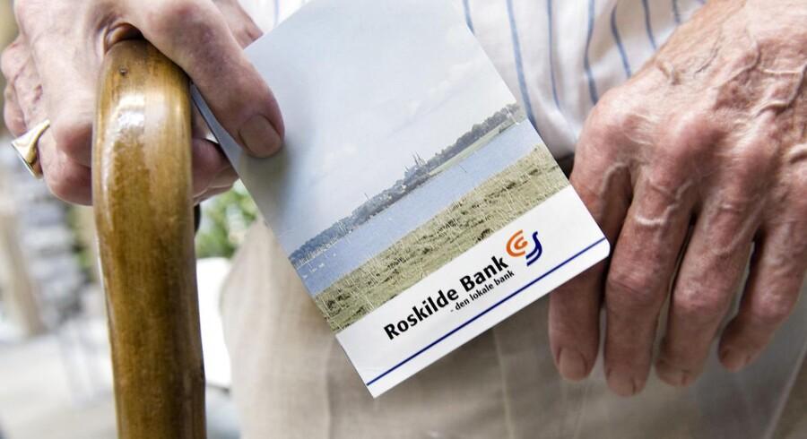 Arkivfoto af Roskilde Bank fra 2008.