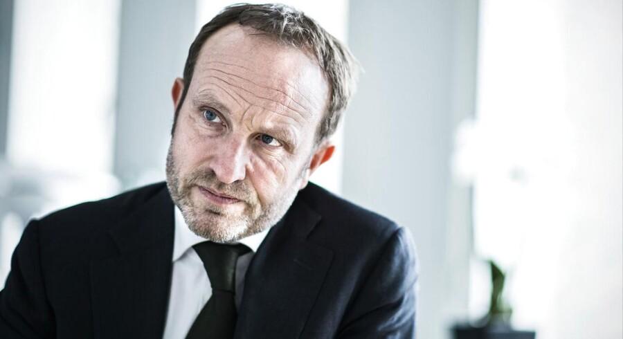 Udenrigsminister Martin Lidegaard (R).