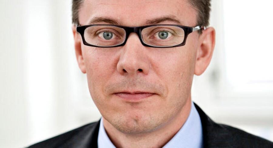 Capinordic-direktør Lasse Lindblad ærgrer sig over, at så mange udefrakommende faktorer har været med til at banke virksomhedens aktiekurs i bund.