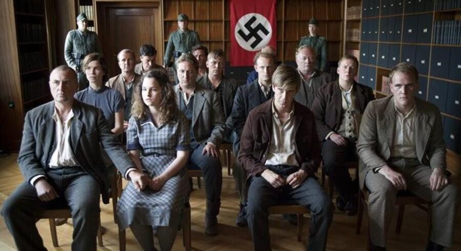 """Scene fra filmen """"Hvidsten Gruppen"""", der hitter stort i biografen."""
