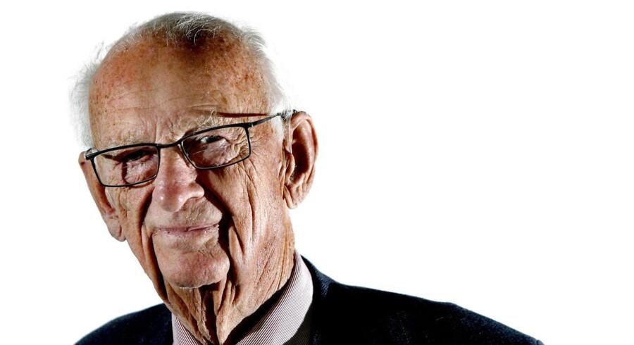 En af Danmarks store erhvervskæmper er død få dage før sin 100 års fødselsdag.