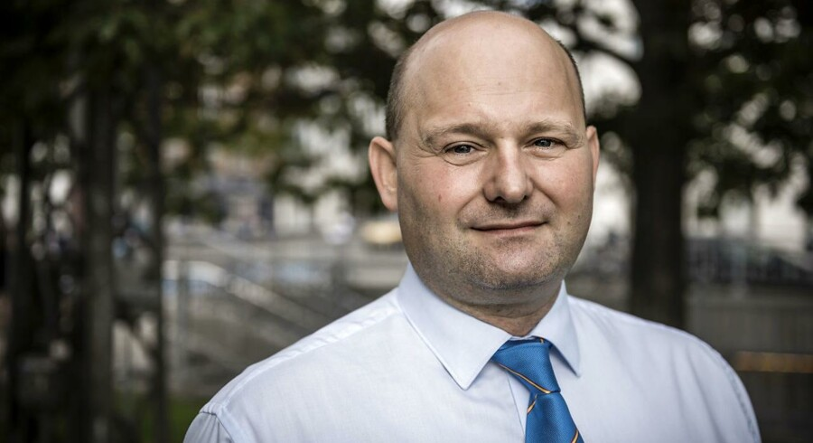 Justitsminister Søren Pape Poulsen (Konservative Folkeparti).
