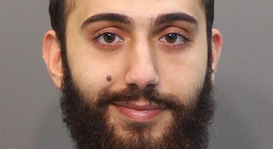 Et foto af den formodede gerningsmand, Mohammad Youssuf Adbulazeez, der ifølge politiet dræbte fire marinesoldater inden han selv blev dræbt.