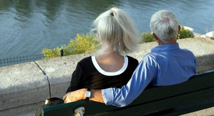 Den enkelte dansker må i fremtiden sandsynligvis selv tage større ansvar for pengene til alderdommen.