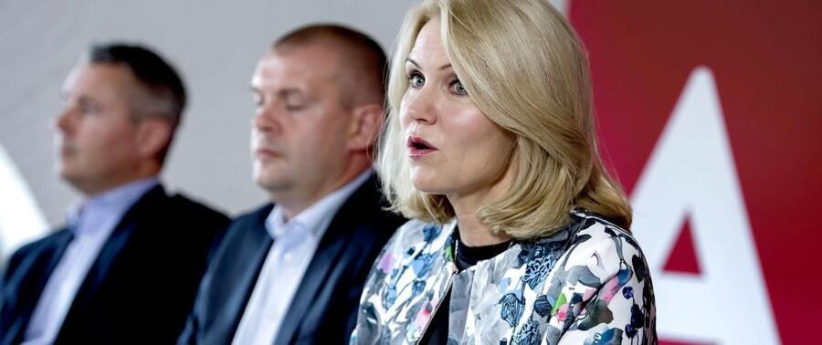 Helle Thorning under Socialdemokraternes sommergruppemøde