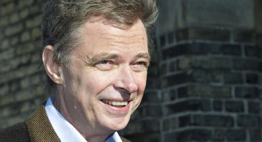 Klaus Riskjær afsoner en dom på halvandet års fængsel, efter at han havde trukket mere end en halv million kroner ud af et konkursbo.