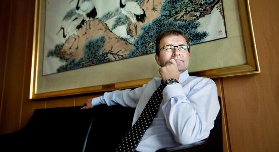 Eivind Kolding fra Maersk Line bifalder konsolideringen i containerfragtbranchen.