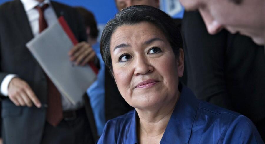 Grønlands landsstyreformand, Aleqa Hammond.