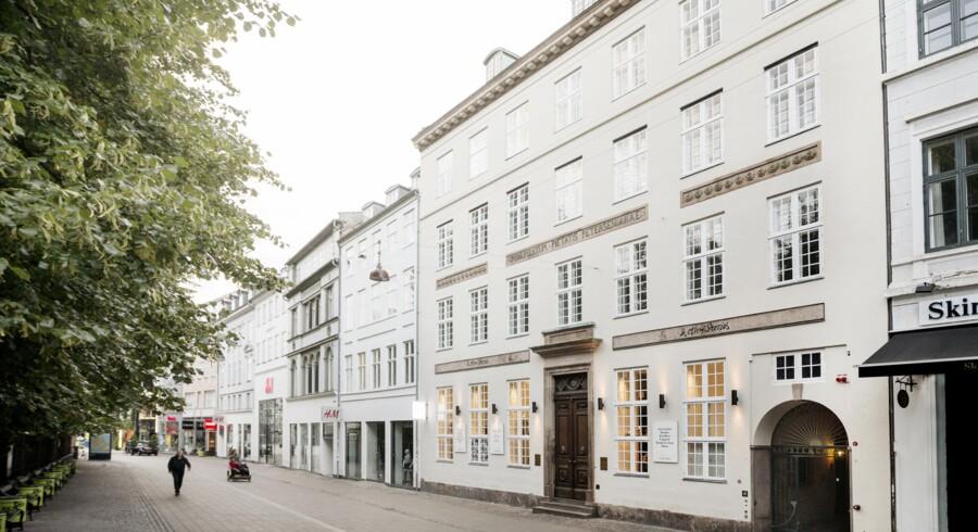 Det er denne ejendom på Amagertorv 29, som Jorcks Ejendomsselskab har overtaget.
