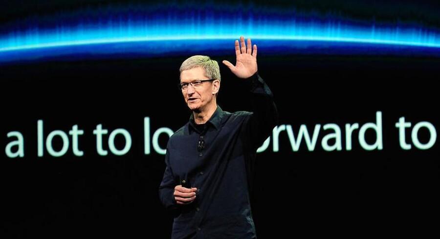Apple-topchefen Tim Cook er for alvor ved at træde ud af sin forgængers skygge.