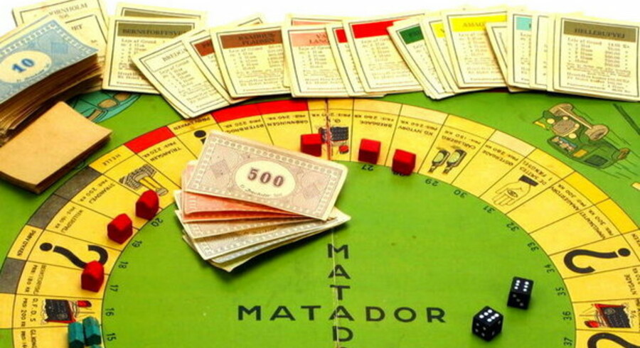 Penge fra den svenske udgave af Matador narrede en kassemedarbejder hos Nordea i Svendborg.