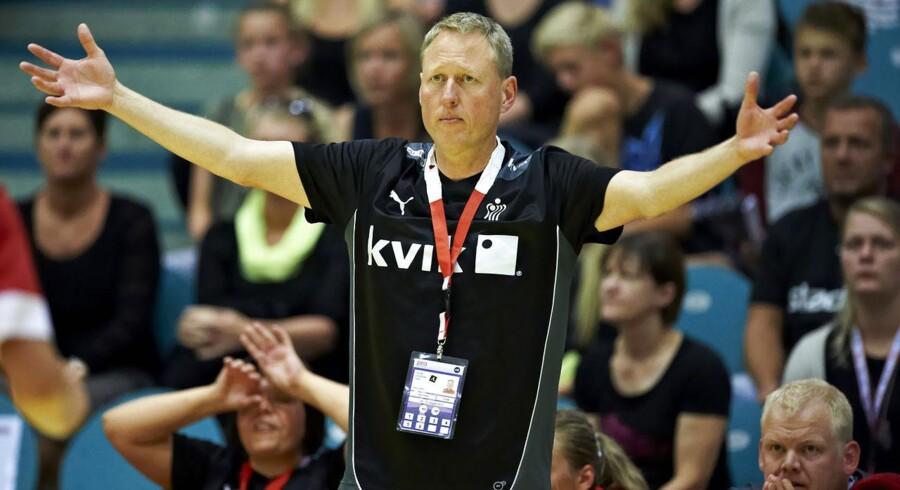 Heine Eriksen får ansvaret for det danske kvindelandshold i håndbold frem til 1. juni.