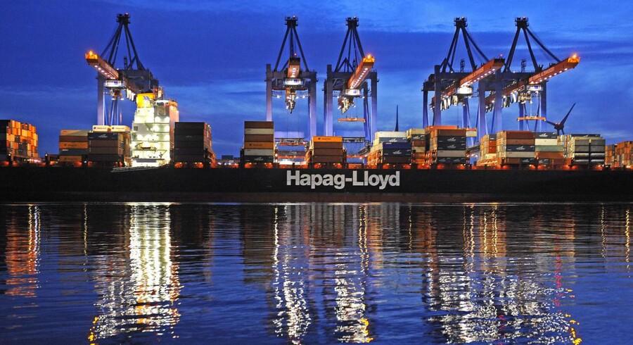Tyske Hapag-Lloyd er et af de selskaber, der nu går i infight med Maersk Lines dominans.